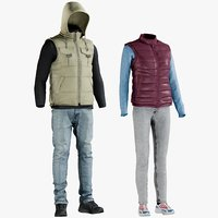 Men's and Women's Clothing Collection