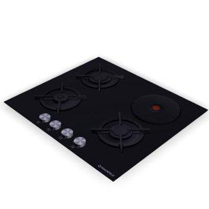 cooktop hob maunfeld eehg-64-13cb-kg 3D model