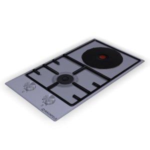 3D cooktop hob maunfeld eehs-32-3es-kg
