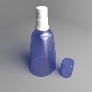 3D bottle thumb sprayer 3