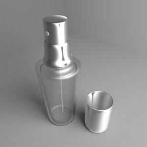 bottle thumb sprayer 2 3D model