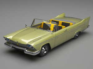 plymouth belvedere 3D model