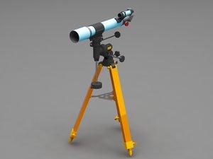 3D telescope scope