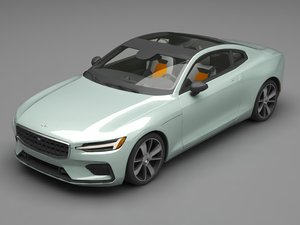 3D polestar car model