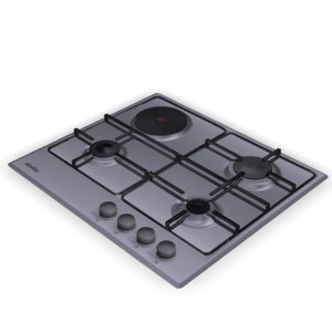cooktop hob simfer h60v31m411 3D model