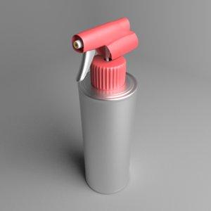 3D bottle trigger sprayer 5 model