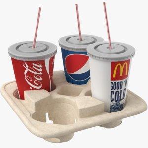 real tray 3D model