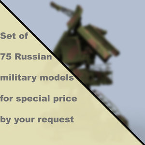 3D russian military