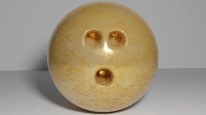 bowling ball 3D model