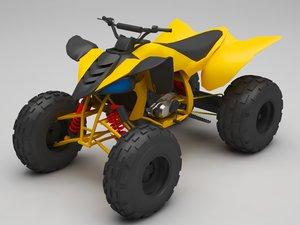 3D buggy beach