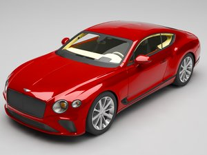 bentley continental gt model