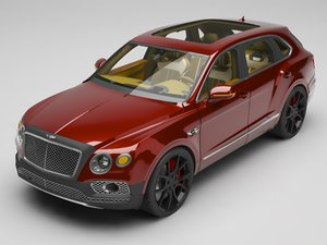 bentley bentayga model