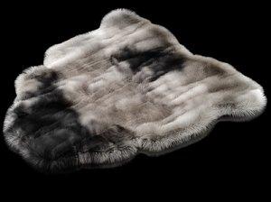 carpet fur 3D