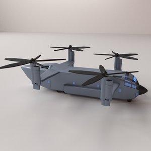 quad copter 3D model