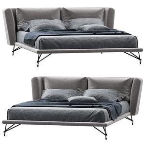 3D model ditre italia lennox bed