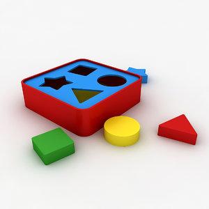 kindergarten toy 3D model