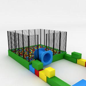 3D pool ball model
