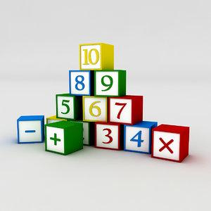 kindergarten figures model