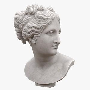 venus italica bust 3D