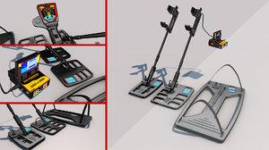 metal detector model