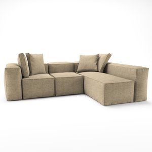 loft sofa sectional 3D