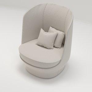 giorgetti design 3D model