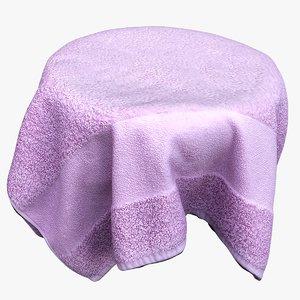 3D towel clothes