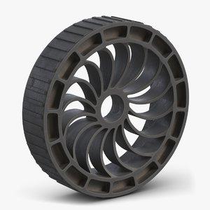 robot wheel 2 3D