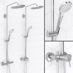 shower hansgrohe croma select 3D model