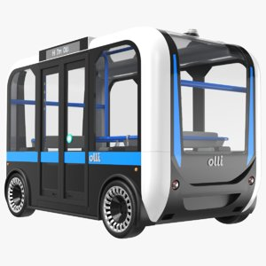 olli bus 3D
