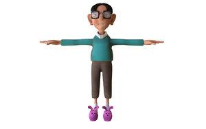 nerd 3D model