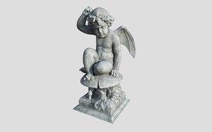 3D puck statue