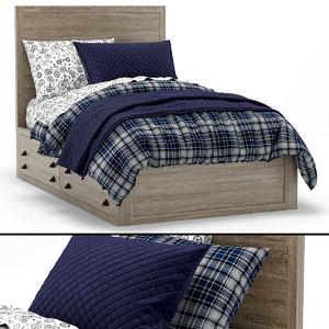 rh baby child bed model