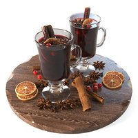 Mulled wine cups
