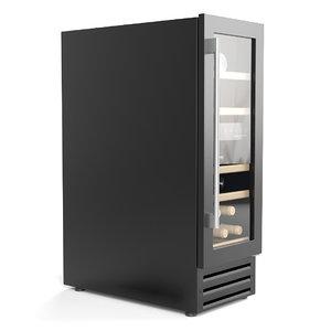 dunavox wine cabinet 3D model