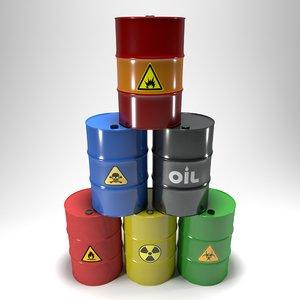 3D clean barrels