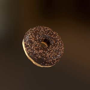 donut realistic pbr model