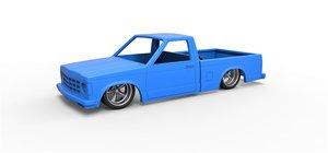diecast shell pickup 3D model