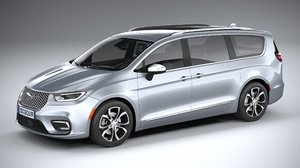 chrysler pacifica 2021 3D model