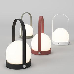 menu carrie led lamp 3D