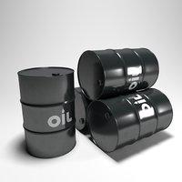 Clean Black Barrel