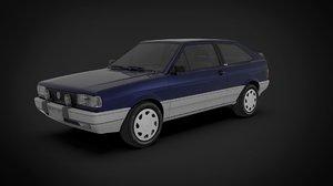 3D gol gti car model