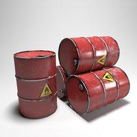 Damage Red Barrel