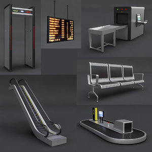 airport package 3D