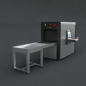 xray realistic 3D model