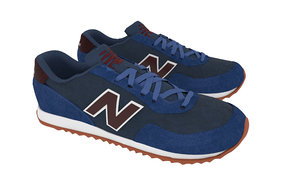 teniss new balance blue 3D model