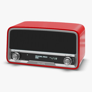 philips radio 3D model