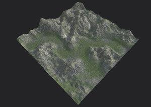 mountain mount model