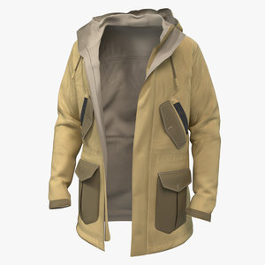 jacket 001 pbr 8k 3D model