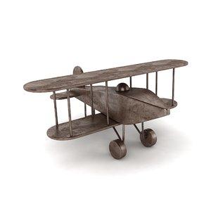 3D airplane vintage air